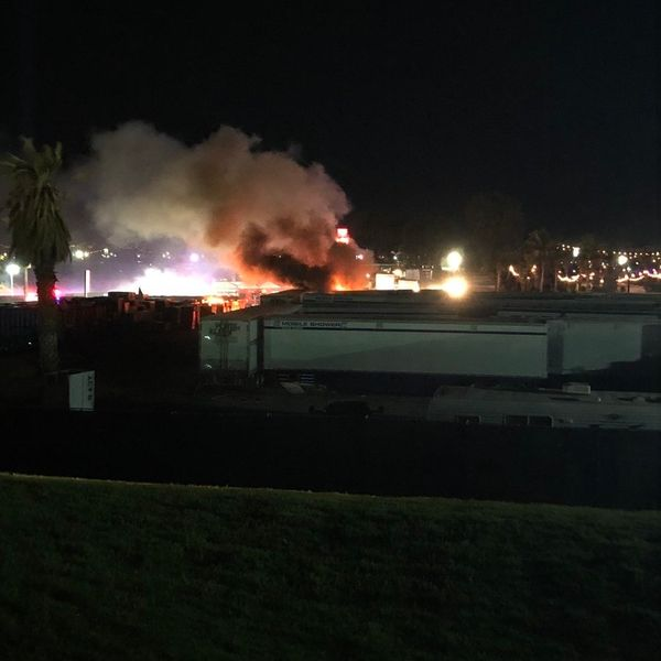 A Fire Breaks Out at Coachella 2019