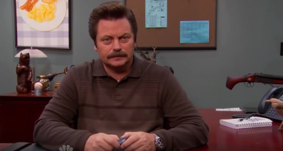 7 Things Ron Swanson Taught Us About Life