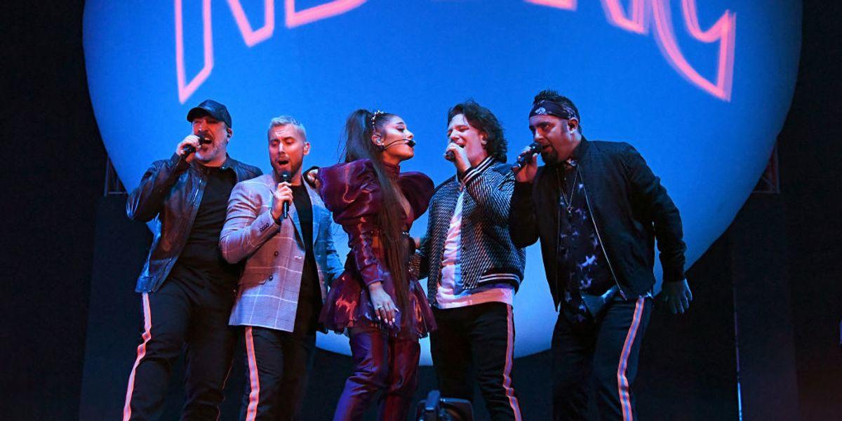Ariana Grande Reunited *NSYNC at Coachella