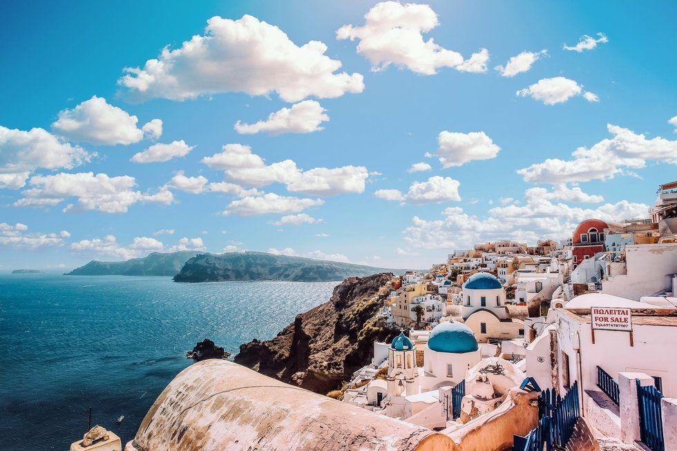 Greece coastline view