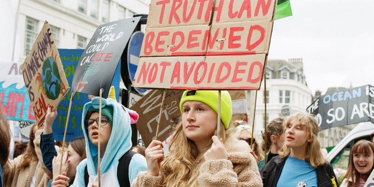 Scenes From the Youth March Against Climate Change