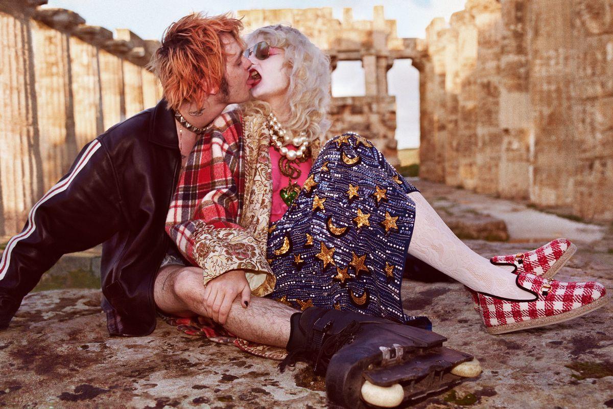 Gucci Set LA Punks Loose on Ancient Greece