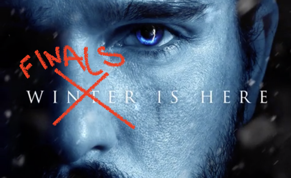 The End Of The Semester As Told By 'Game Of Thrones'