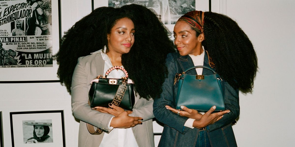 FENDI's New #MeAndMyPeekaboo Campaign Stars TK Wonder and Ciprianna Quann