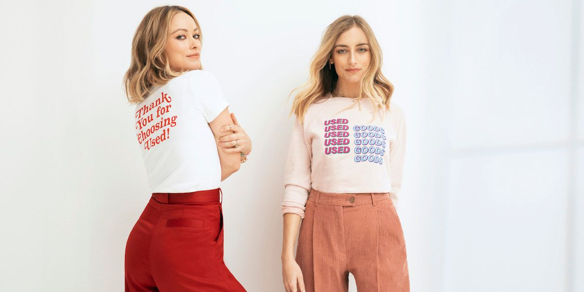 """Olivia Wilde Releases New Line That'll Make You """"Choose Used"""" Clothing"""