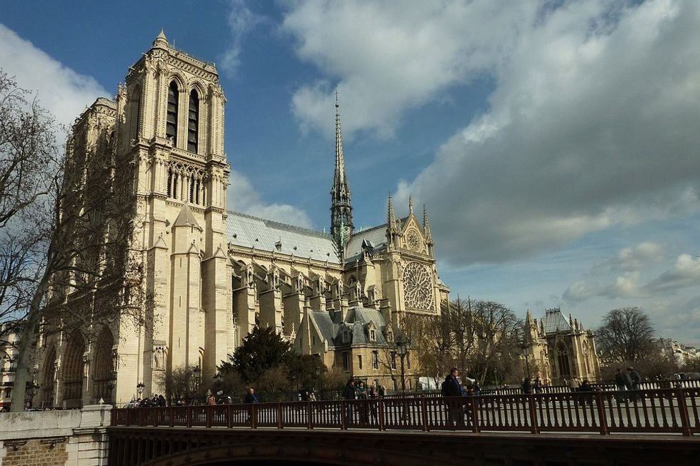 The Burning Of The Notre Dame Cathedral Is A Loss For Us All