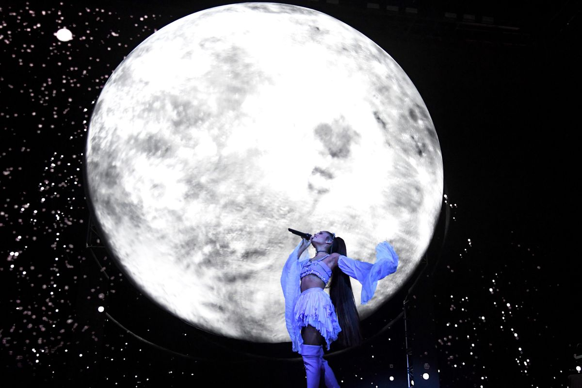 Ariana Grande Drops NASA Merch Collab, Makes Space Relevant Again