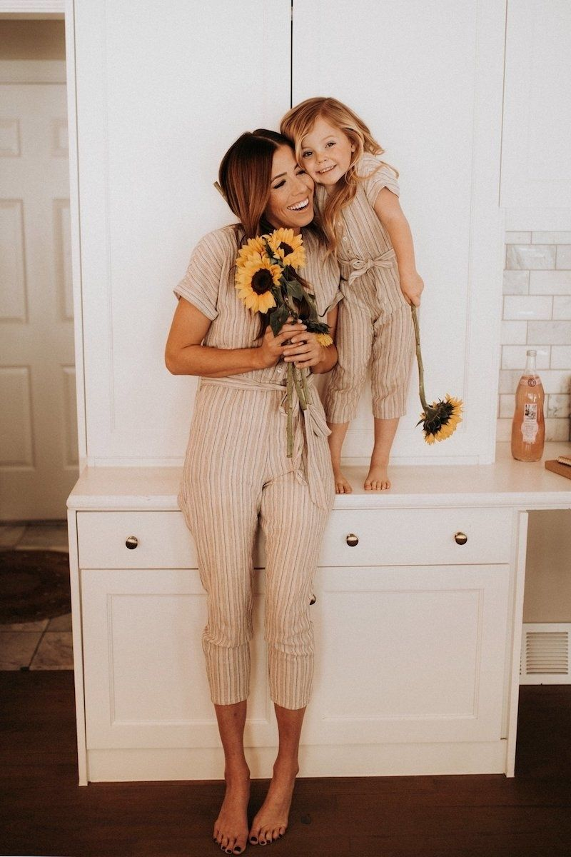 mommy and me matching jumpsuits