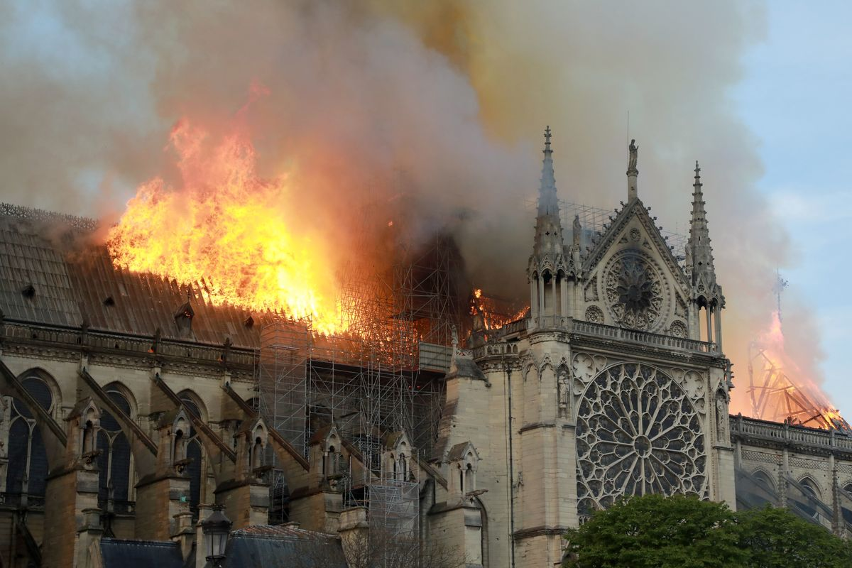 Fashion Houses Are Pitching in to Rebuild Notre Dame
