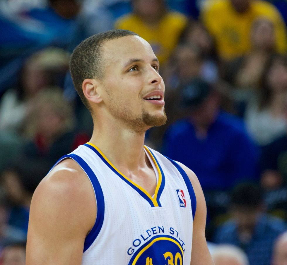 Stephen Curry Breaks Ray Allen's Record For Most Postseason Three-Pointers