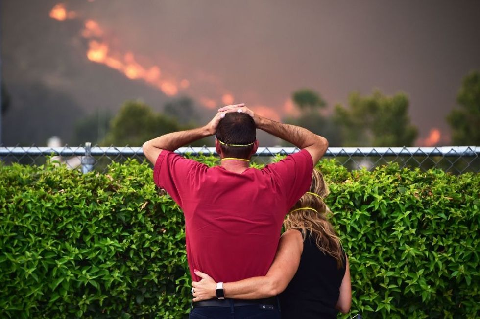People who lost everything in a wildfire sent unforgettable notes to the couple who started it.