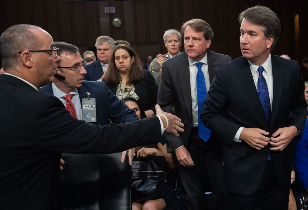 Trump's Supreme Court nominee just shockingly turned his back on a Parkland parent.