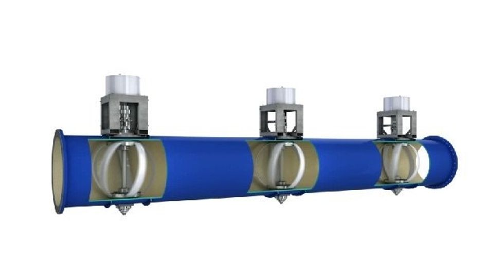 Portland now generates electricity from turbines installed in city water pipes.