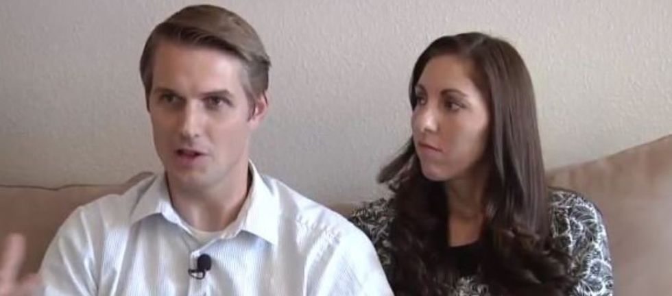 Couple's 'infertility announcements' bring humor to a taboo topic.