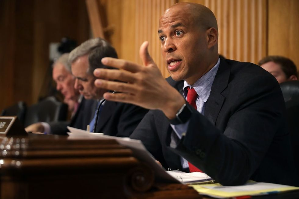 Cory Booker just bravely risked his job to expose an ugly truth about racial profiling the Senate wanted to hide.