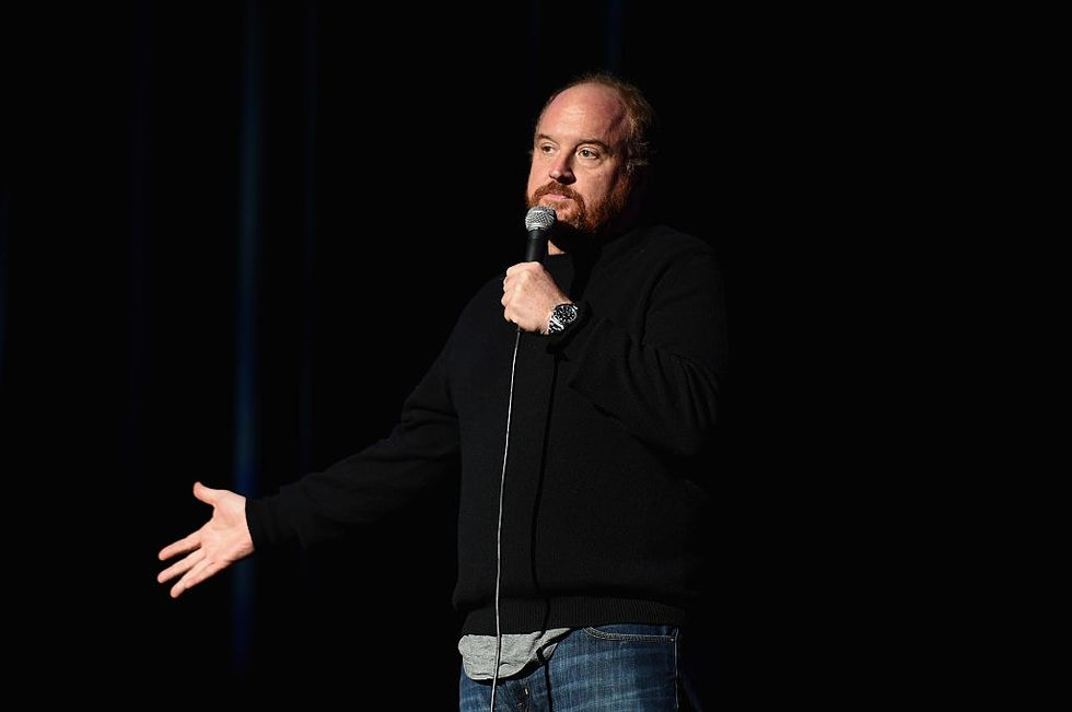This courageous woman stood up to Louis C.K. by heckling him and is sharing her inspiring story.