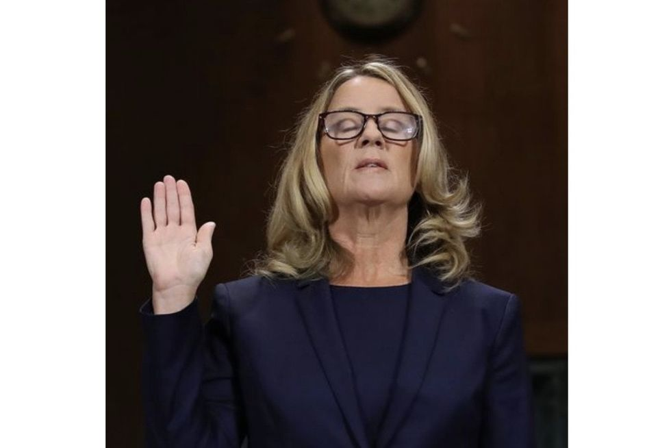 Christine Blasey Ford speaks out for the first time about the threats she and her family have faced.