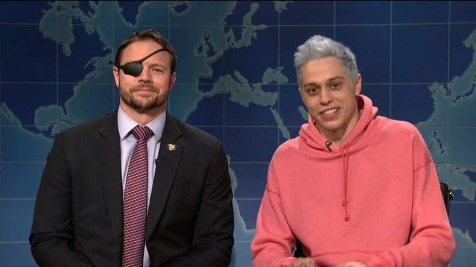 'SNL' star Pete Davidson's apology to this war veteran turned into a moving call for unity.