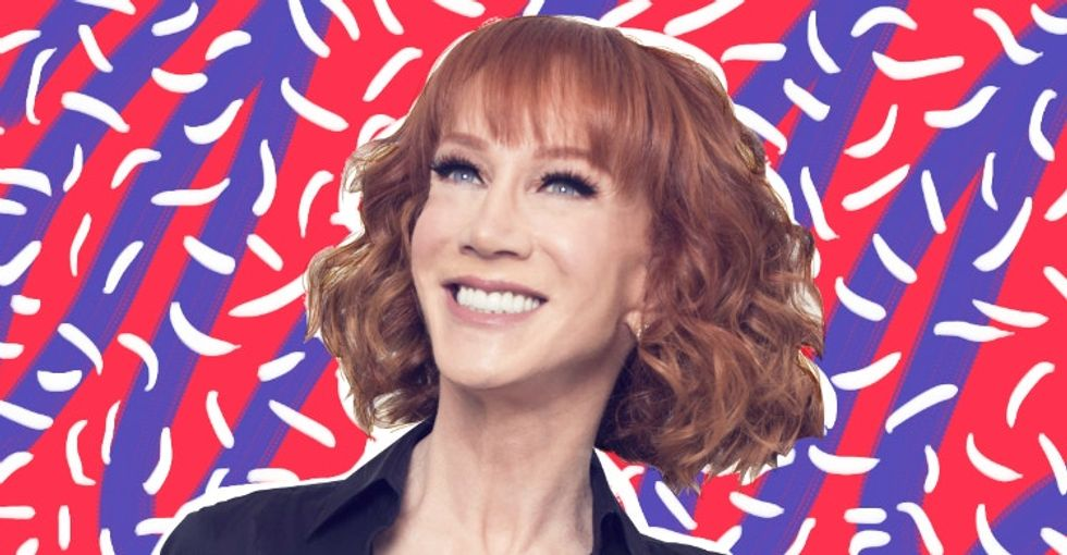 Exclusive: Kathy Griffin dishes on Trump and the trolls that plagued her year.