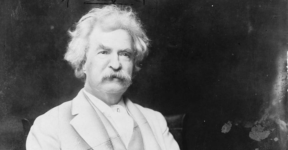 A salesman tried to dupe Twain. His response? A turn-of-the-century burn of the century.