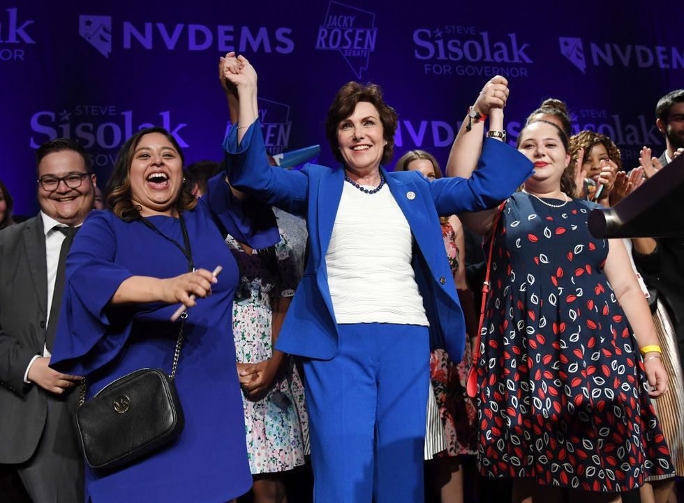 Nevada just made history by putting women in charge of its government.