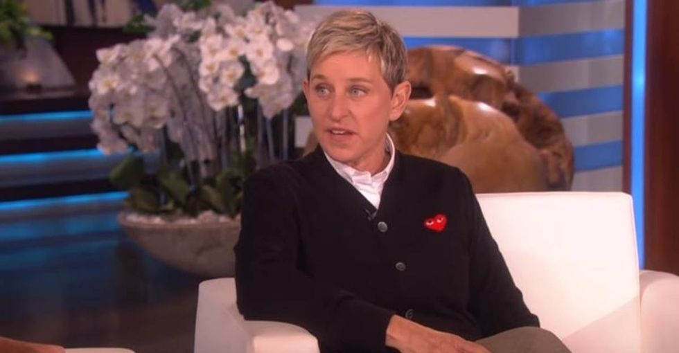 Ellen DeGeneres just opened up about being sexually abused. It's very powerful.