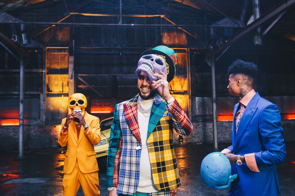 Behind-the-Scenes of French Montana's 'Slide' Video