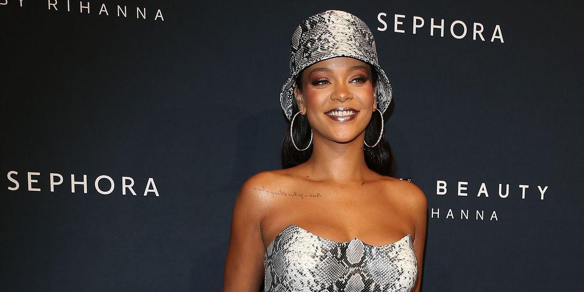 Rihanna Teases Unreleased Fenty Beauty Product On 'Harper's Bazaar' Cover