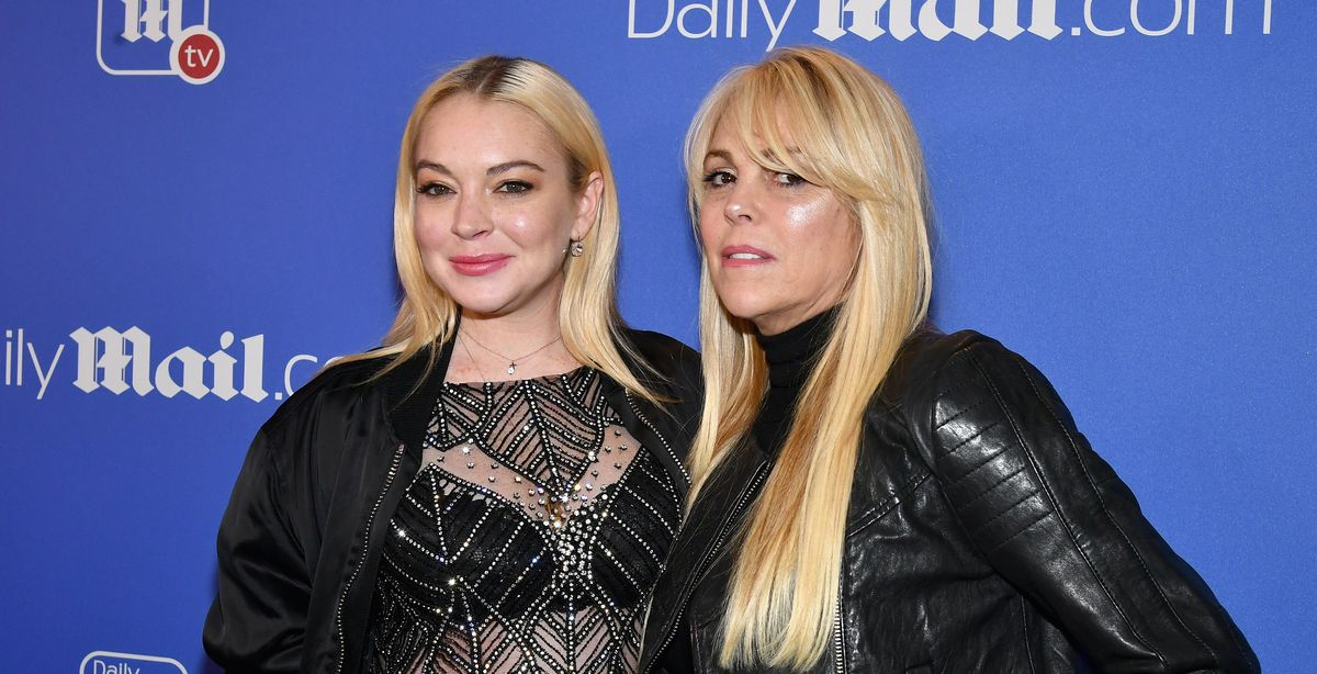 Lindsay Lohan's Mom And Her Very Real, Not At All Fake Internet Boyfriend Broke Up