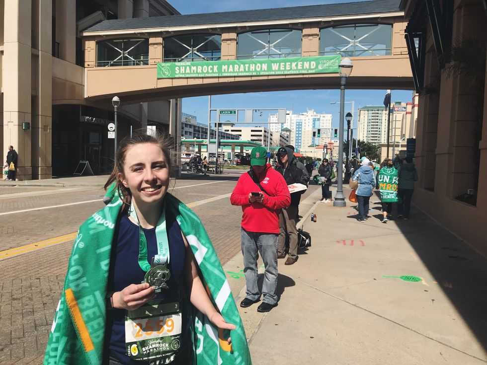 I Ran My First Marathon