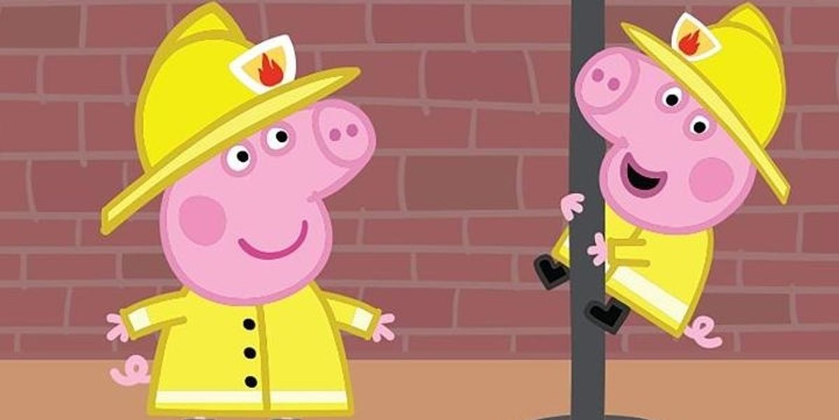 Peppa Pig Accused of Sexism by the London Fire Brigade