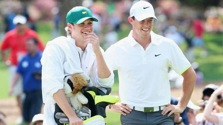 Rory McIlroy and niall horan