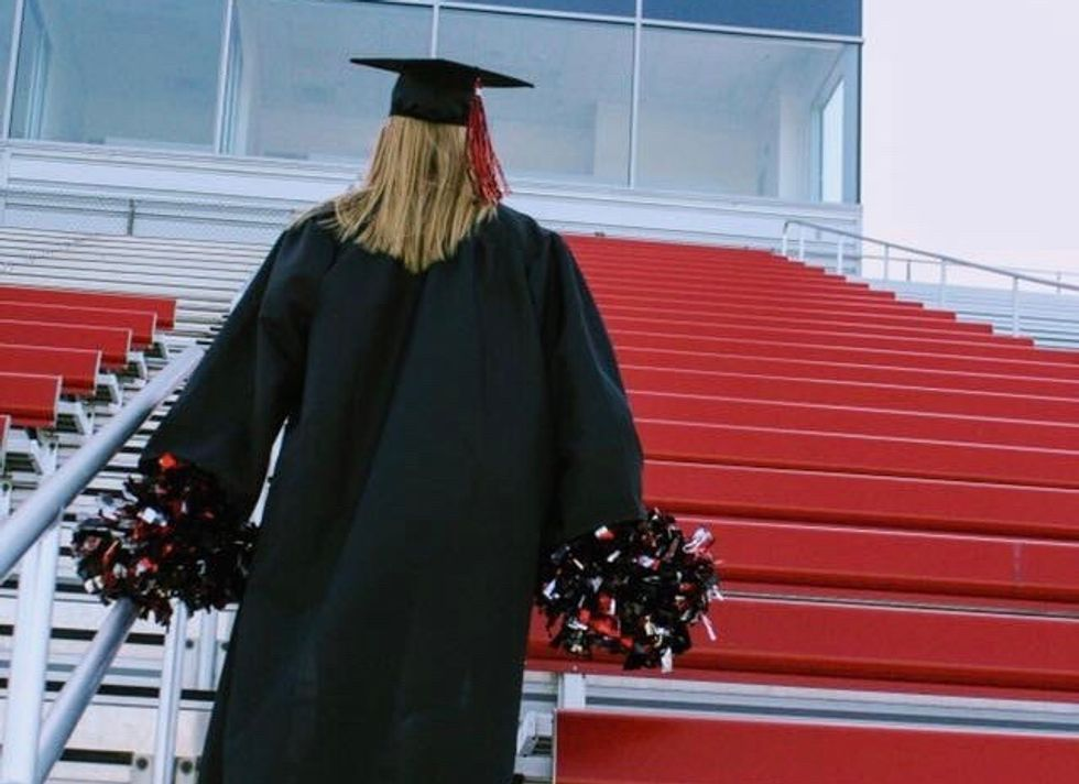 I No Longer Miss High School, But I Still Want To Put On My Cheer Uniform Again
