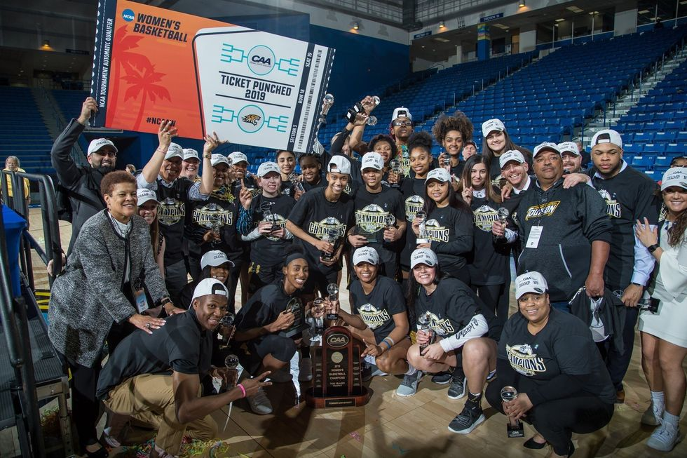 Towson Is Going Into The NCAA Tournament As The Underdog and Hoping To Come Out The Champion