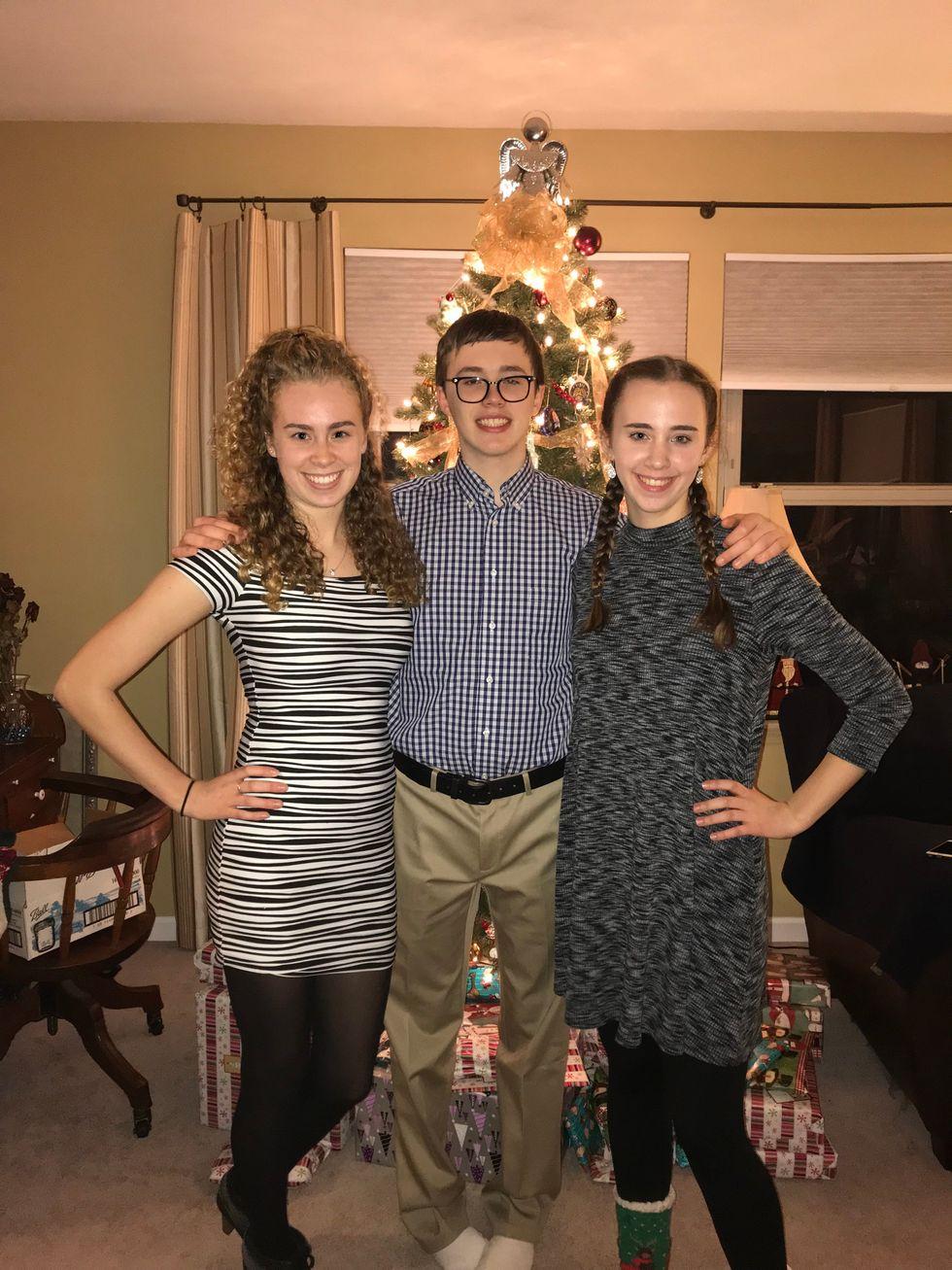 Kirsti and siblings