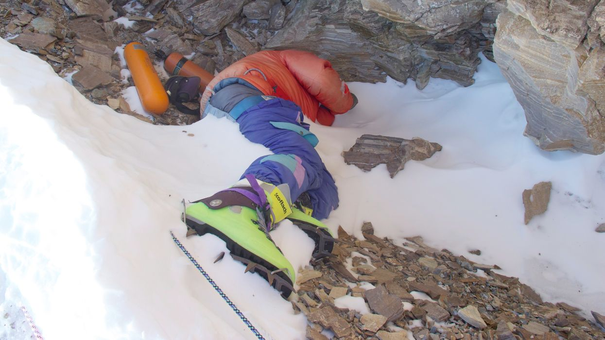 Climate change melts Mount Everest's ice, exposing dead bodies of past climbers