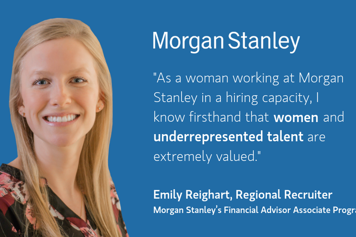 Jobs For Women At Morgan Stanley - PowerToFly Blog