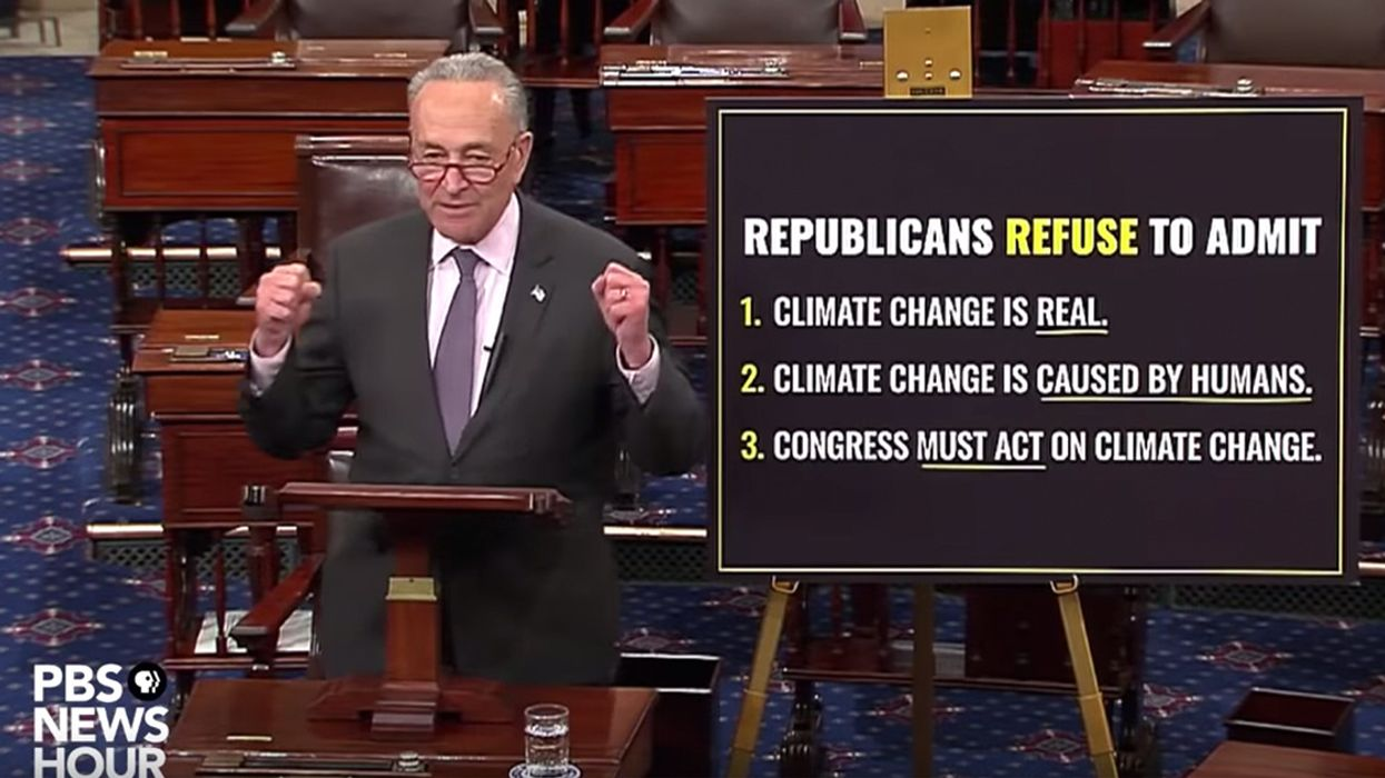 Senate Dems Vote 'Present' on Green New Deal to Foil McConnell's Ploy