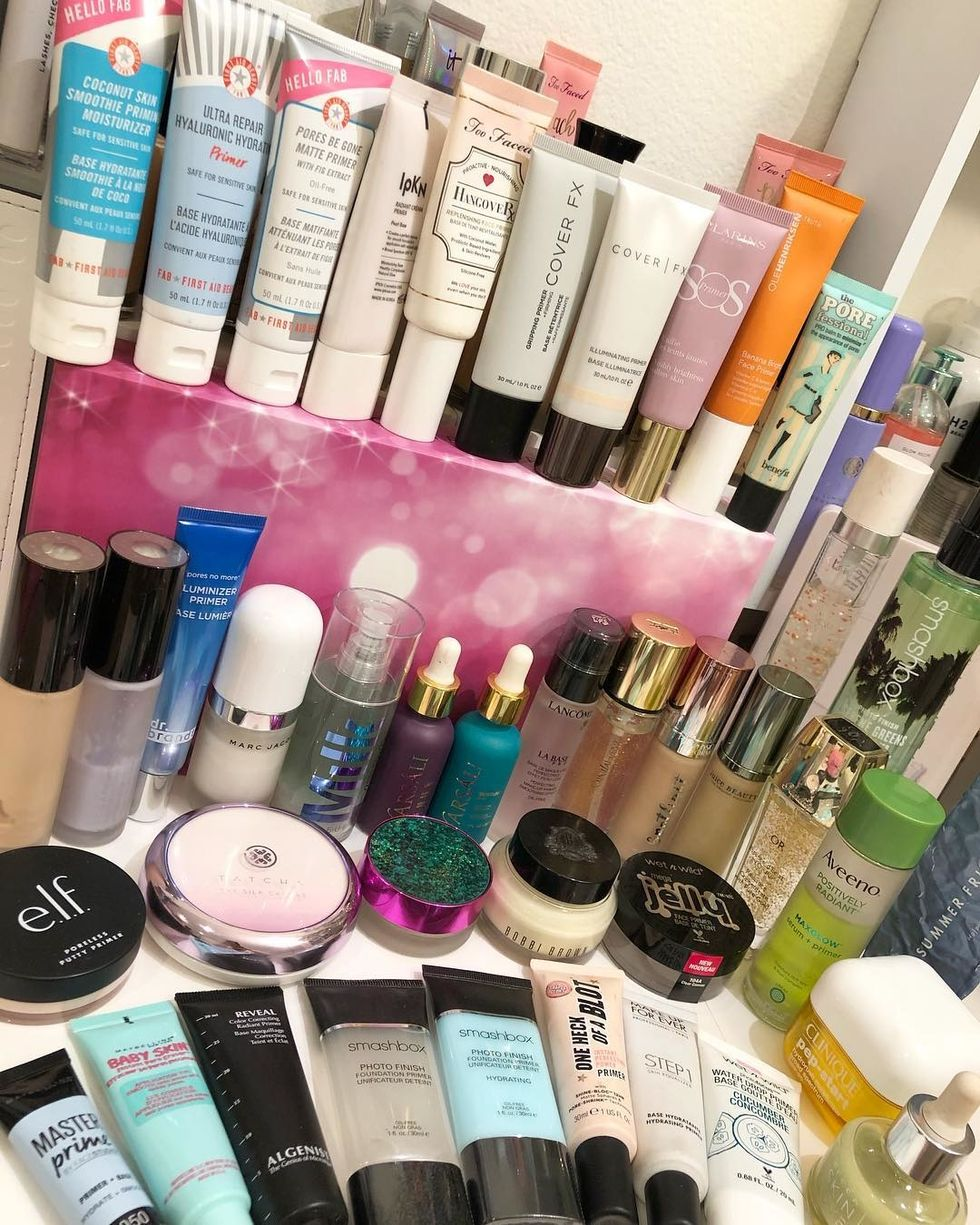 A Review And Comparison of 6 Sephora Primers