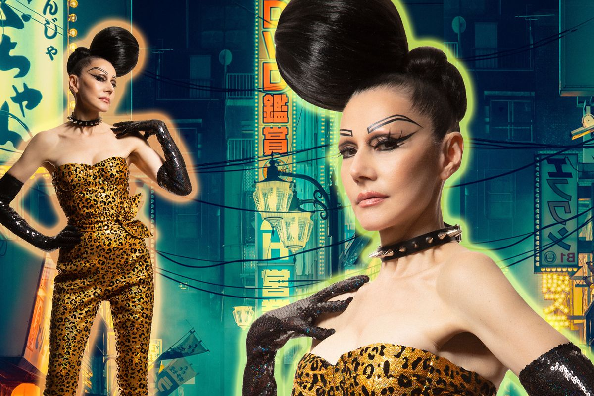 Susanne Bartsch Models CHENG's Fall 2019 Collection