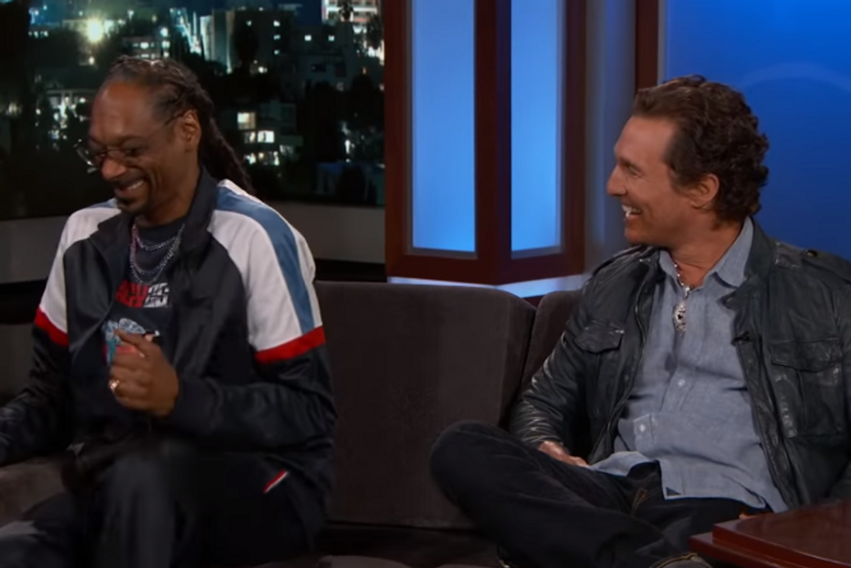 Snoop Dogg and Matthew McConaughey are BFFs Now