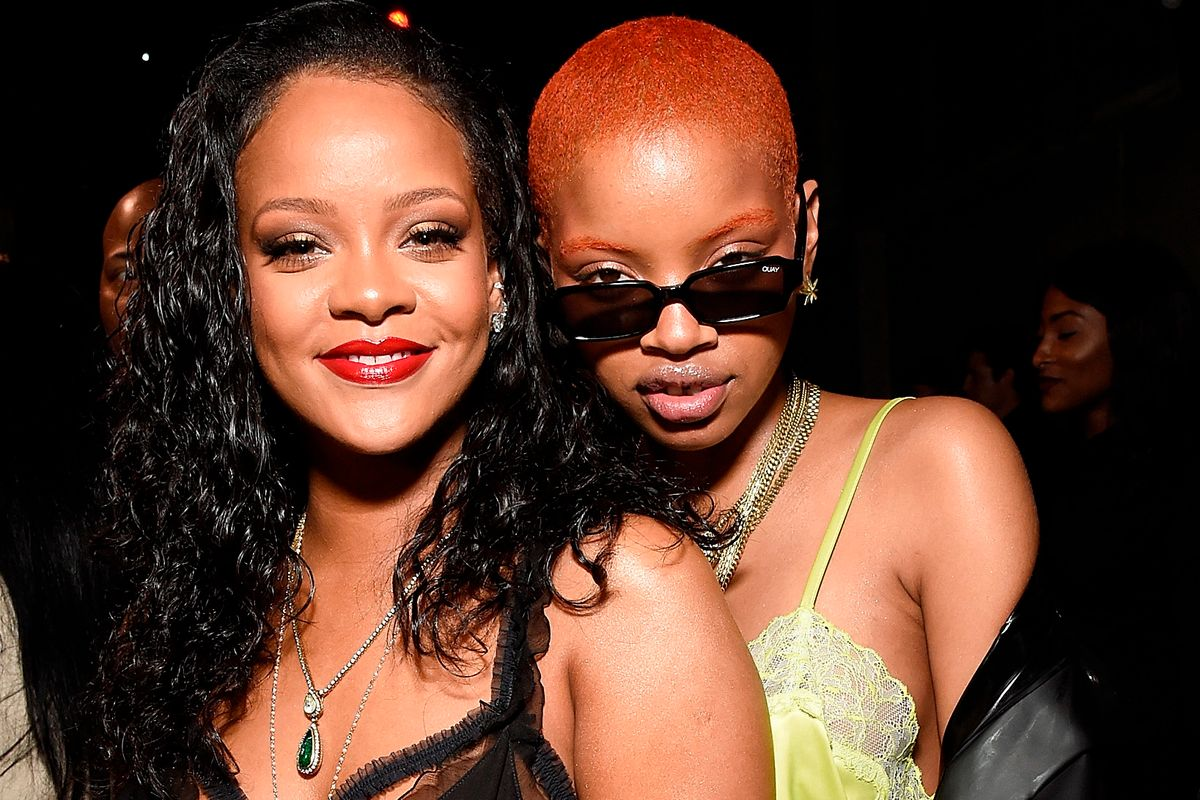 Rihanna Spanked Slick Woods With a Whip as She Went Into Labor