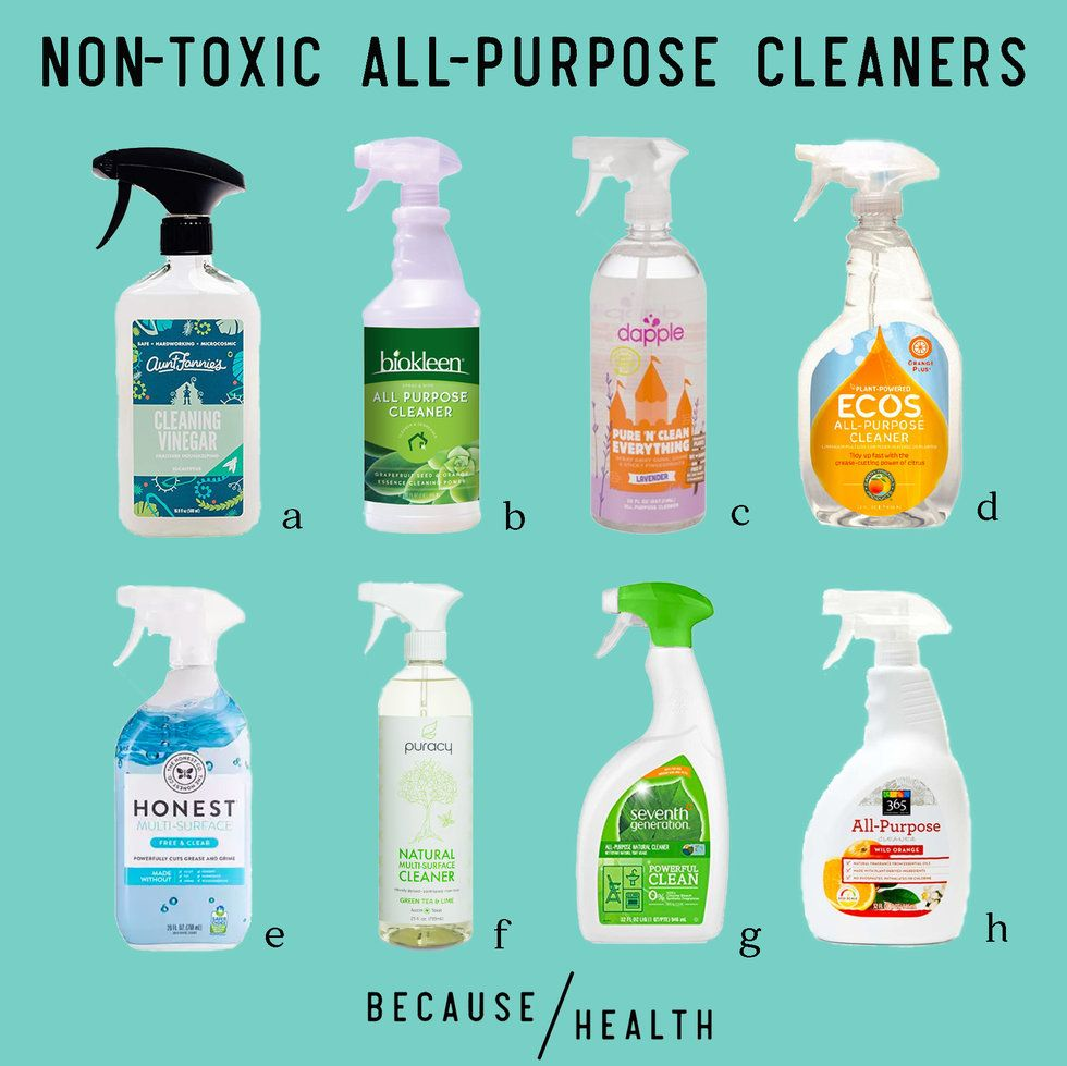 9 Non Toxic All Purpose Cleaners - Because Health