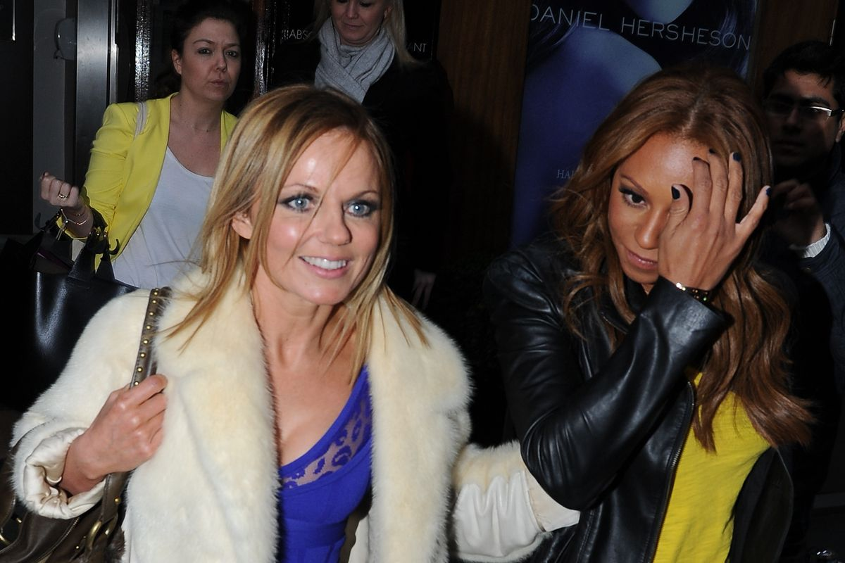 Geri Halliwell Denies Sleeping With Mel B