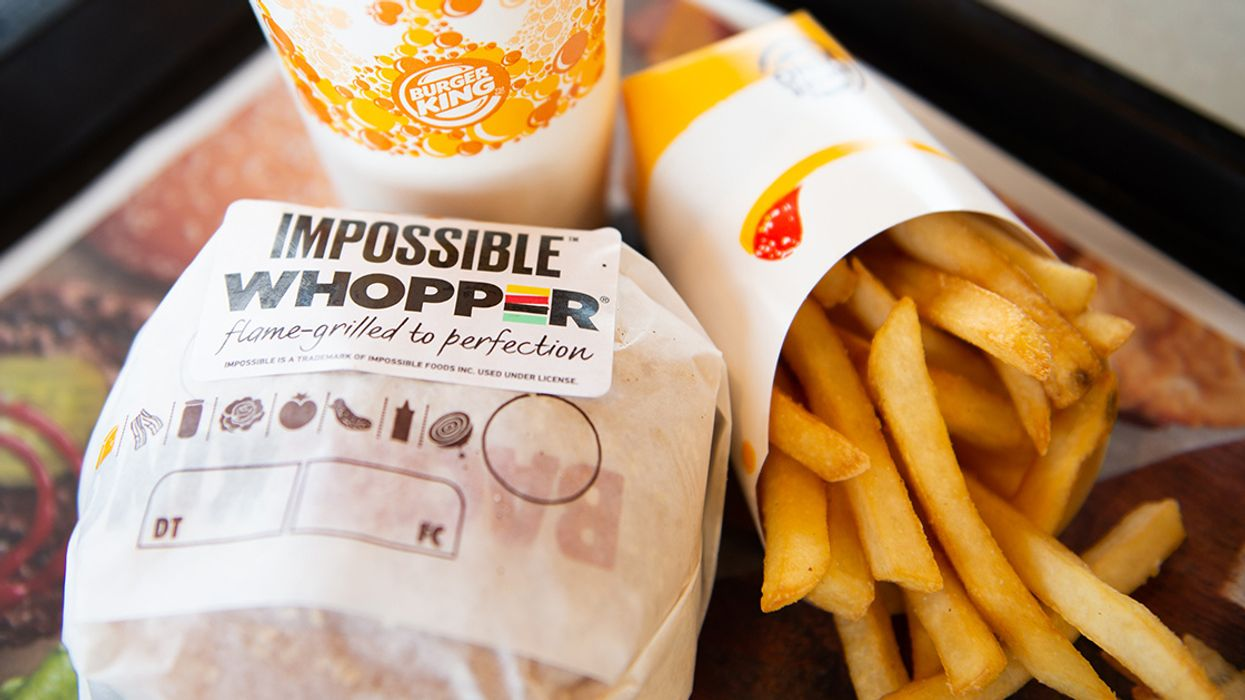Burger King to Trial Meat-Free Impossible Whopper