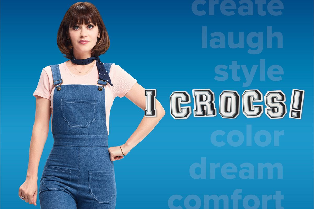 Zooey Deschanel Joins Post Malone as the Face of Crocs