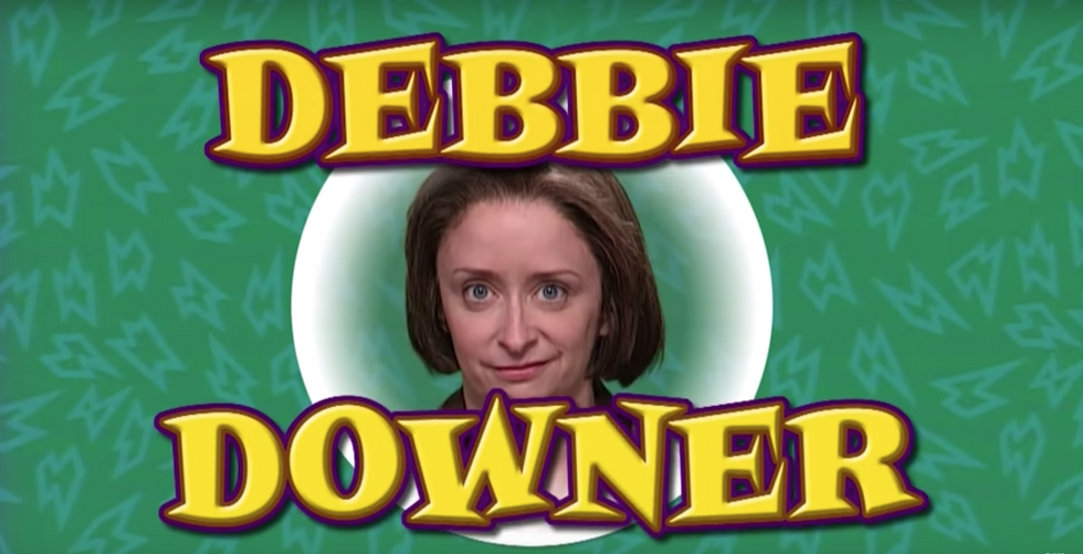7 Ways Debbie Downer Represented Every College Student During The End Of The Semester