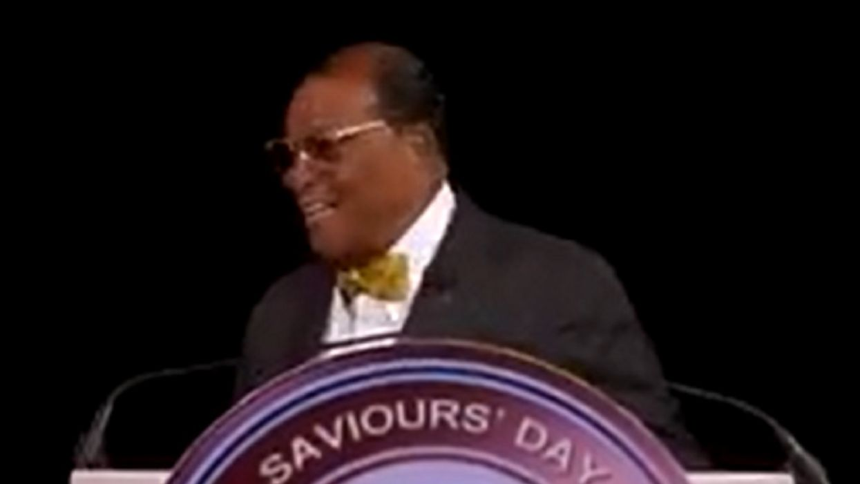 Twitter, Facebook still haven't suspended Louis Farrakhan even after he said, 'Jesus died because he was...too soon to bring about the end of the civilization of the Jews'