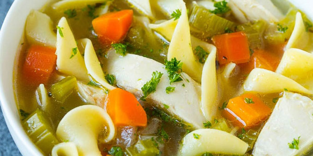 crock pot chicken noodle soup  my recipe magic