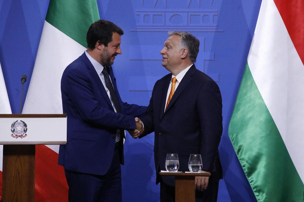 Salvini e Orbán lavorano a un muro tra Ppe e sinistra